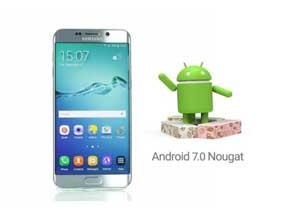 Обновления ОС Samsung Galaxys 7 до версии Android 7.0